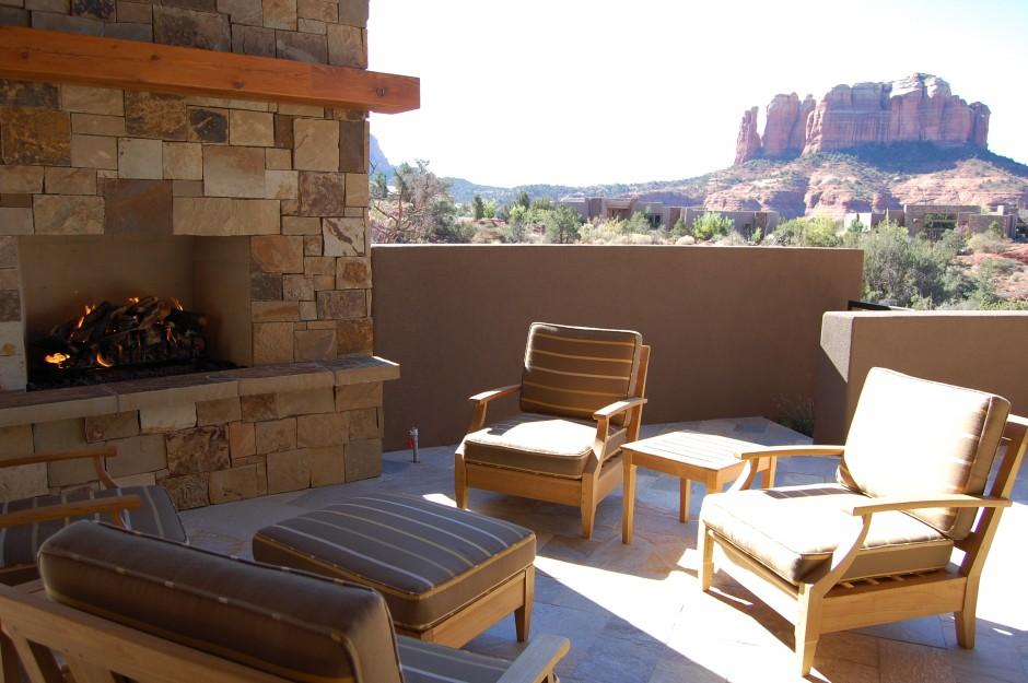 7 patio fireplace
